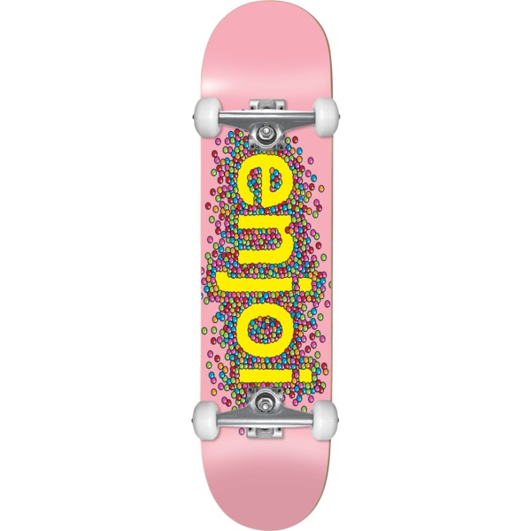 """Enjoi Skateboards Candy Coated Pink Complete Skateboard First Push - 8.25"""" x 32"""""""