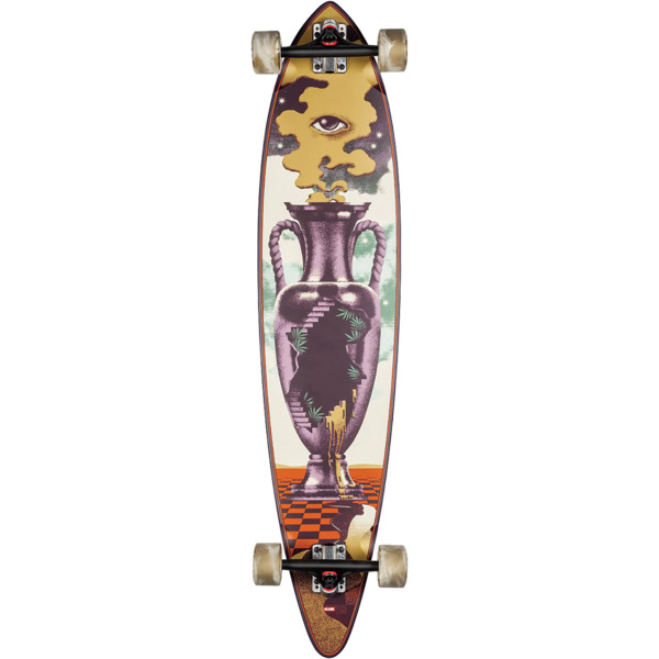 """Globe Pintail 44 The Outpost Longboard Complete Skateboard - 9.75"""" x 44"""""""