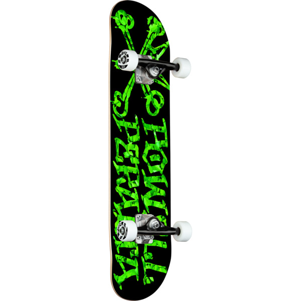 """Powell Peralta Vato Rats Leaves Black Mid Complete Skateboards - 7.5"""" x 28.5"""""""