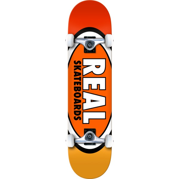 """Real Skateboards Team Edition Oval Complete Skateboard - 7.75"""" x 31.5"""""""