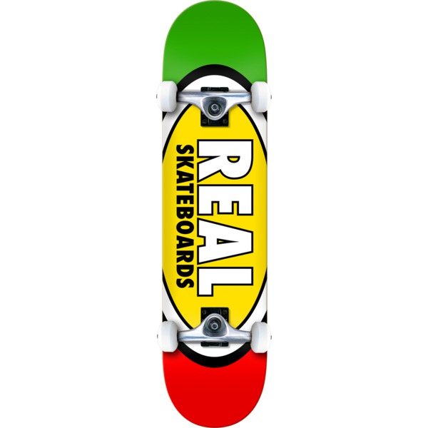 """Real Skateboards Team Edition Oval Complete Skateboard - 8.25"""" x 32.5"""""""