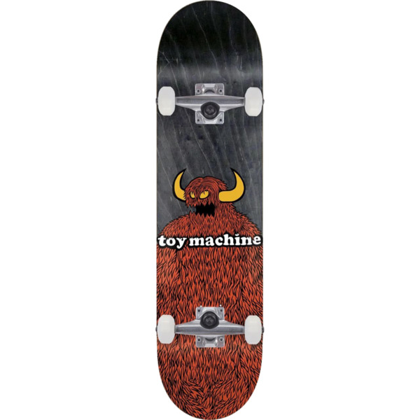 """Toy Machine Skateboards Furry Monster Complete Skateboard - 8.25"""" x 31.88"""""""