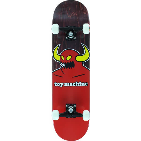 """Toy Machine Skateboards Monster Assorted Colors Complete Skateboard - 8"""" x 31.75"""""""