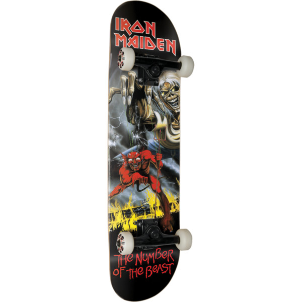 """Zero Skateboards Iron Maiden The Number Of The Beast Complete Skateboard - 8"""" x 32"""""""