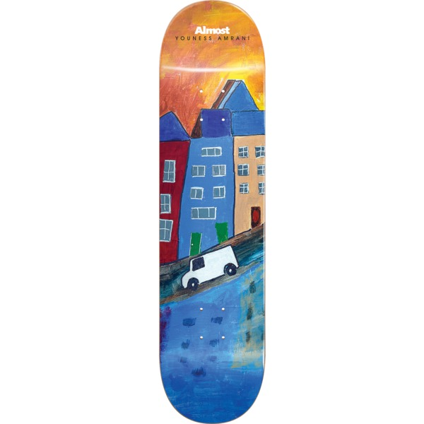 """Almost Skateboards Youness Amrani Places / Right Skateboard Deck Resin-7 - 8.25"""" x 32"""""""