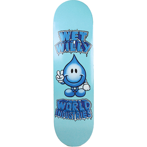 """World Industries Skateboards Ice Cold Wet Willy Skateboard Deck - 8.25"""" x 32"""""""