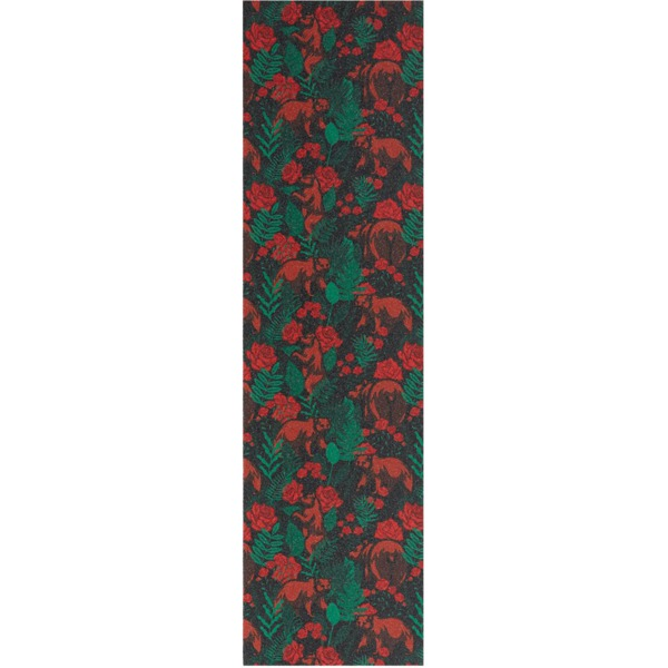 """Grizzly Grip Tape Rose Garden Red Griptape - 9"""" x 33"""""""