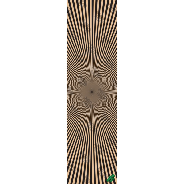 """Mob Grip Trip Out Ray Burst Clear Griptape - 9"""" x 33"""""""