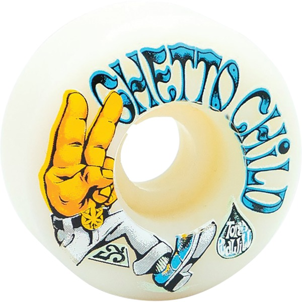 Ghetto Child Torey Pudwill Imagine White Skateboard Wheels - 52mm 99a (Set of 4)
