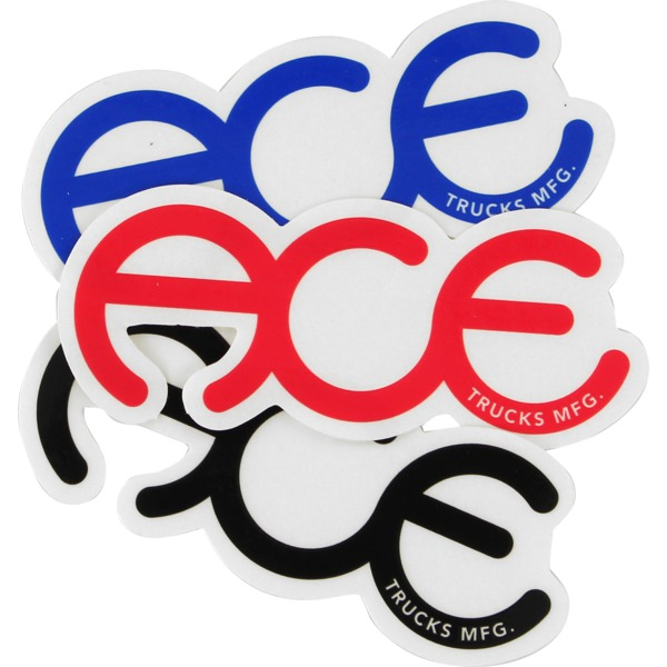 """Ace Trucks 5"""" Rings Assorted Colors Skate Sticker"""