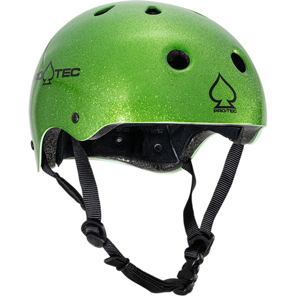 """ProTec Classic Candy Green Skate Helmet - (Certified) - X-Large / 23.6"""" - 24.4"""""""