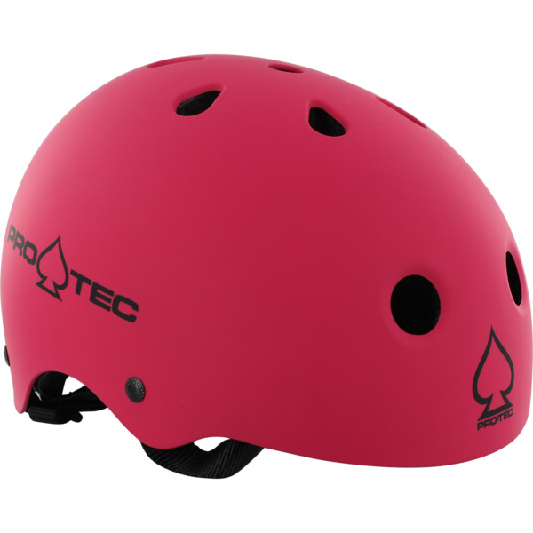 """ProTec Classic CPSC Matte Pink Skate Helmet - (Certified) - X-Large / 23.6"""" - 24.4"""""""