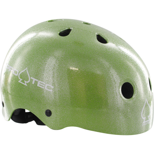 """ProTec Classic CPSC Green Flake Skate Helmet - (Certified) - X-Large / 23.6"""" - 24.4"""""""