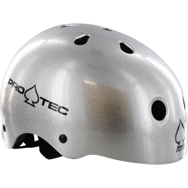 """ProTec Classic CPSC Silver Flake Skate Helmet - (Certified) - X-Large / 23.6"""" - 24.4"""""""