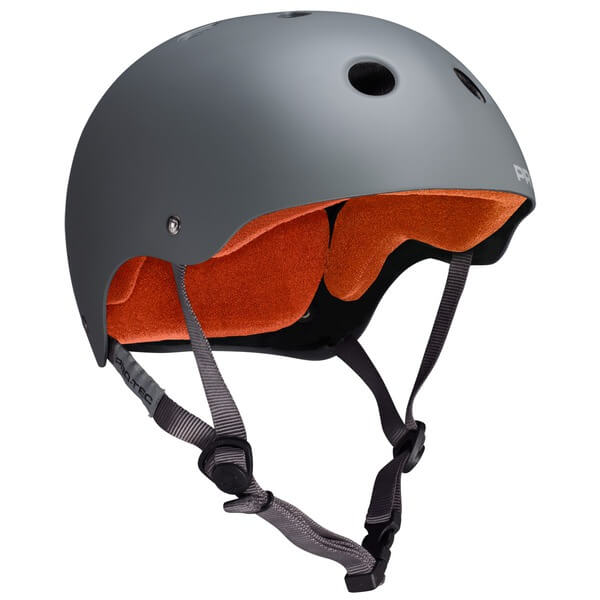 """ProTec Classic CPSC Matte Grey Skate Helmet - (Certified) - X-Small / 20.5"""" - 21.3"""""""