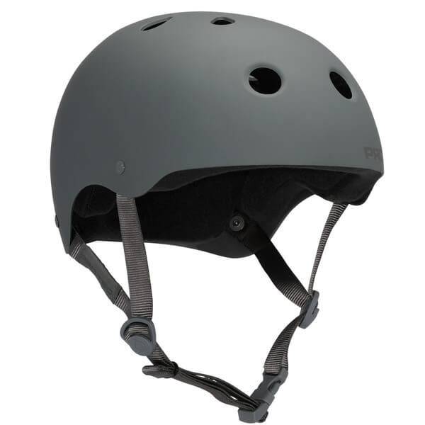 """ProTec Classic CPSC Rubber Grey Skate Helmet - (Certified) - X-Large / 23.6"""" - 24.4"""""""