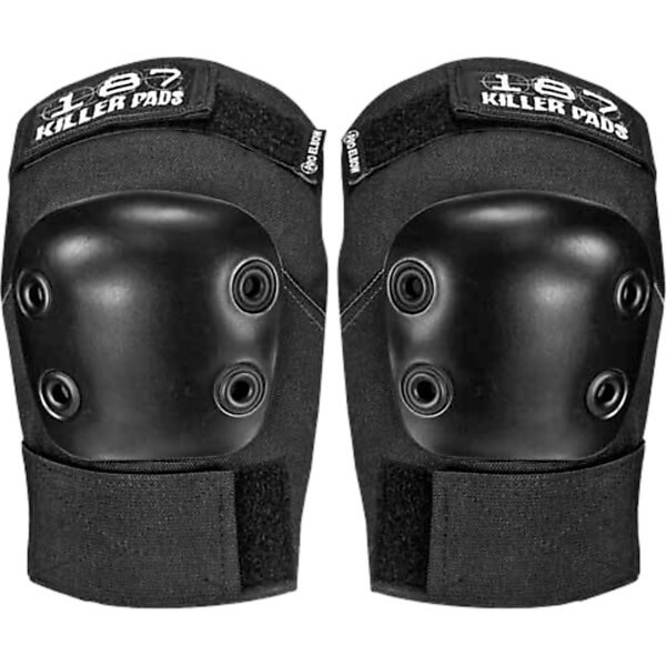 187 Killer Pads Pro Black Elbow Pads - X-Small