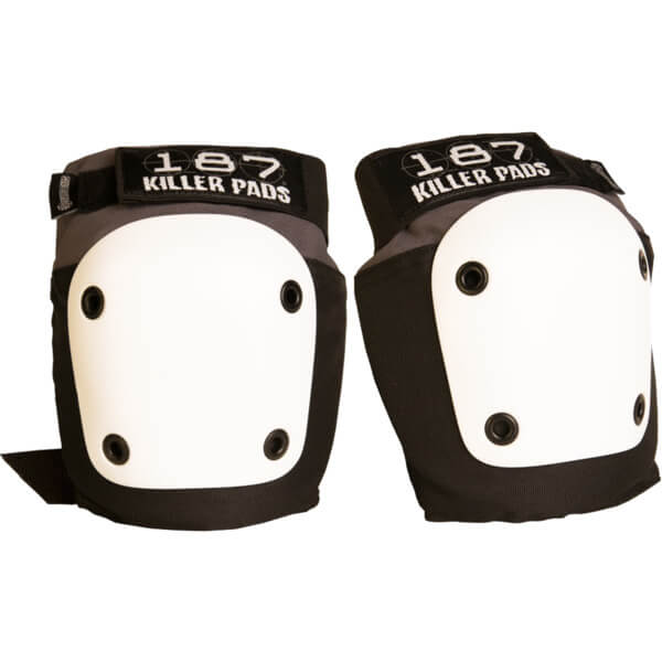 187 Killer Pads Fly Grey / Black Knee Pads - X-Small