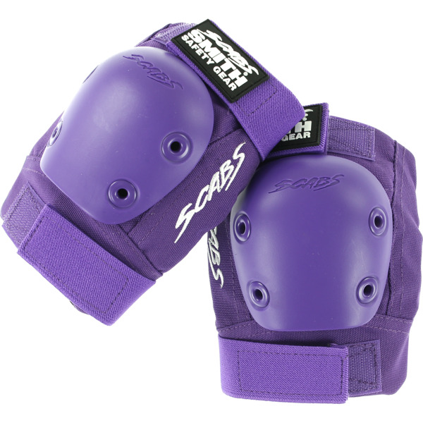 Smith Safety Gear Scabs Junior Purple Elbow Pads - Large / X-Large