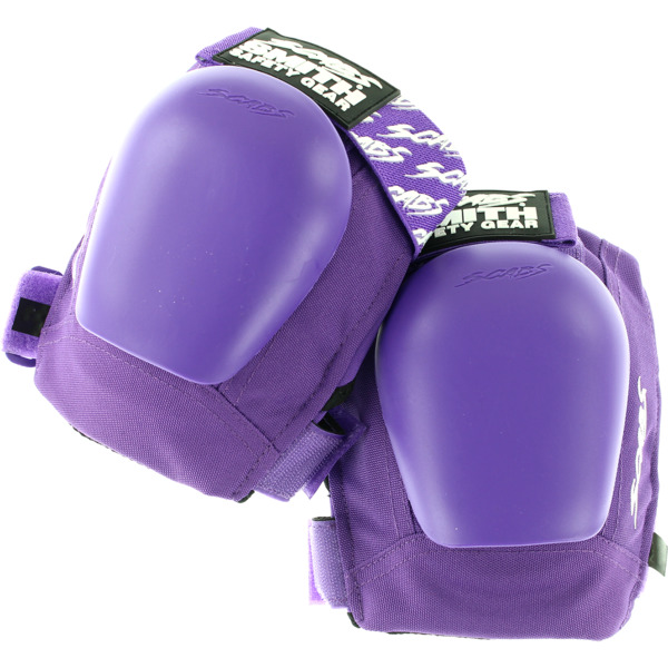 Smith Safety Gear Scabs Junior Purple Knee Pads - Small / Medium