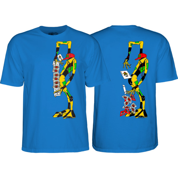 Powell Peralta Ray Barbee Rag Doll Men's Short Sleeve T-Shirt in Royal