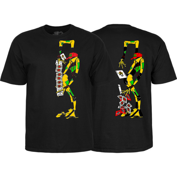 Powell Peralta Ray Barbee Rag Doll Men's Short Sleeve T-Shirt in Black