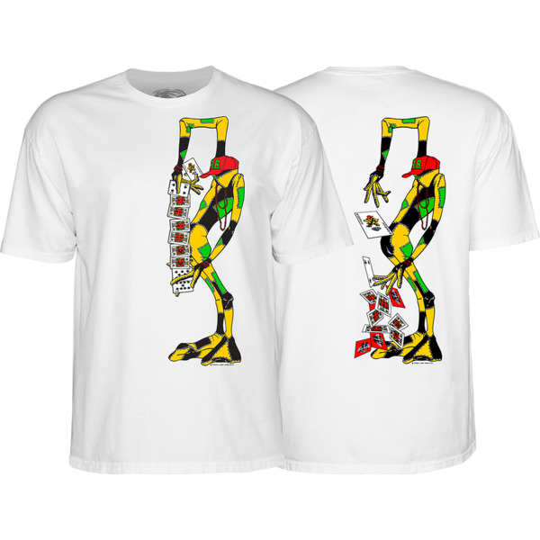 Powell Peralta Ray Barbee Rag Doll Men's Short Sleeve T-Shirt in White
