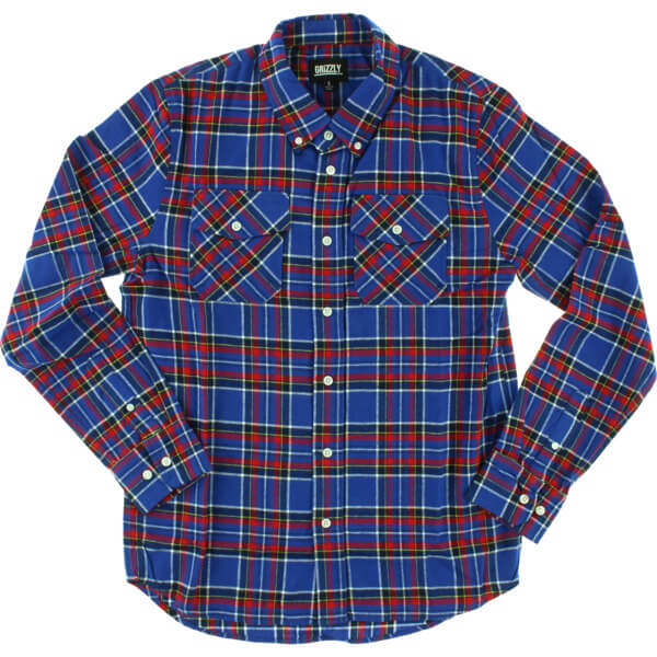 Grizzly Grip Tape Tundra Long Sleeve Button Up