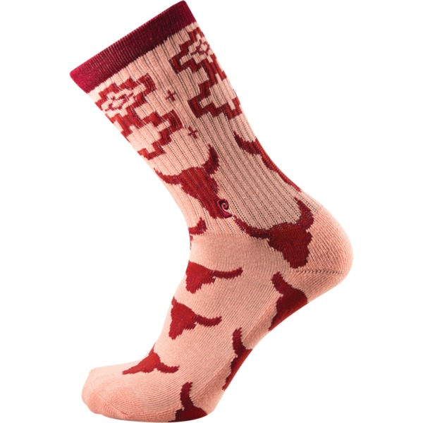 Psockadelic Dude Ranch Crew Socks - One size fits most