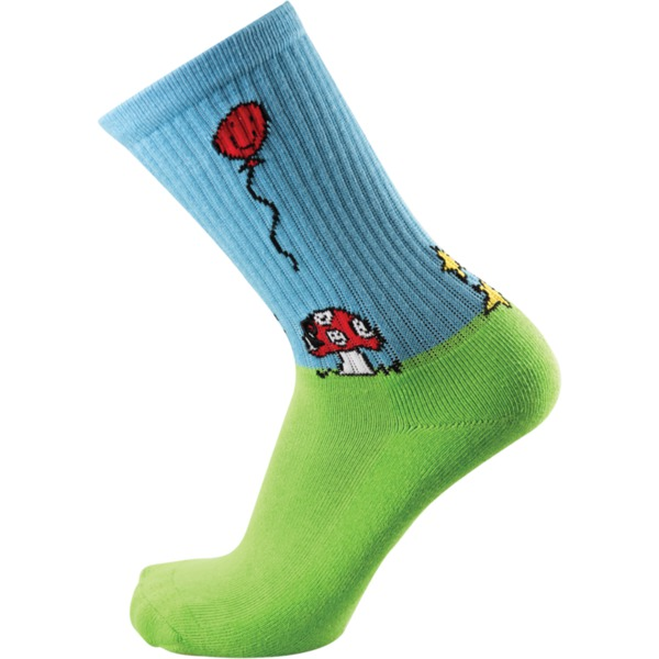 Psockadelic Fly High Crew Socks - One size fits most