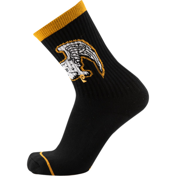 Psockadelic Kick Out The Jams Crew Socks - One size fits most
