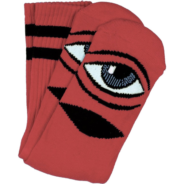 Toy Machine Skateboards Sect Eye Clay Crew Socks - One size fits most