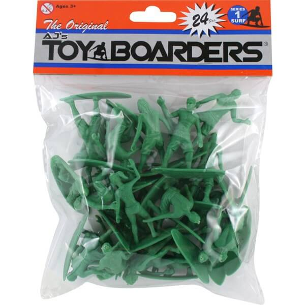 Toy Boarders Series 1 Surf Figures - 24 Piece