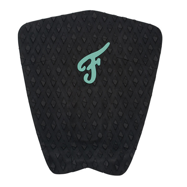 Famous Surf Eco F5 Black Surfboard Traction Pad - 5 Piece