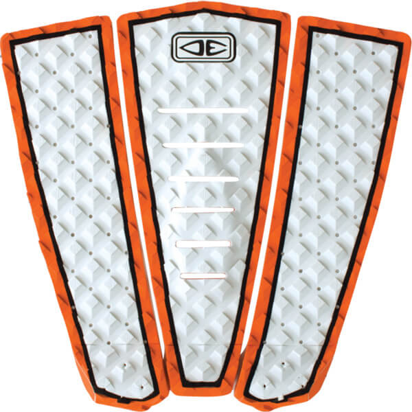 Ocean & Earth 280 Grom White Surfboard Traction Pad - 3 Piece