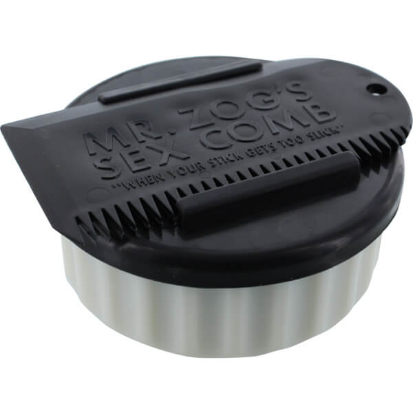 Sex Wax Container White / Black with Wax Comb