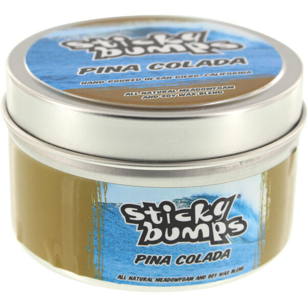 Sticky Bumps 4oz Tin Pina Colada Scented Surf Wax Candle