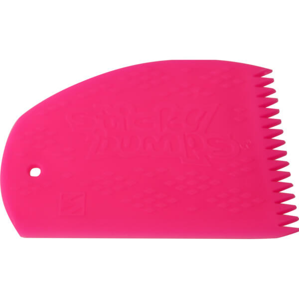 Sticky Bumps Pink Wax Comb
