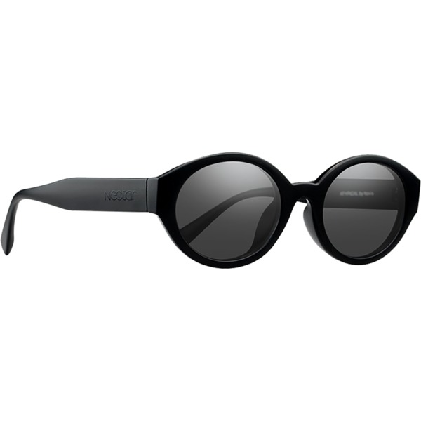 Nectar Atypical Sunglasses in Matte Black / Black