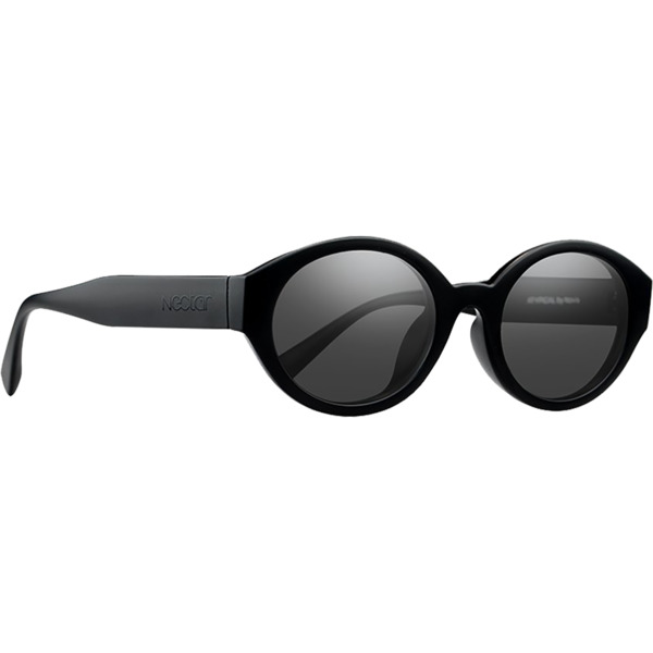 Nectar Atypical Sunglasses in Black / Black