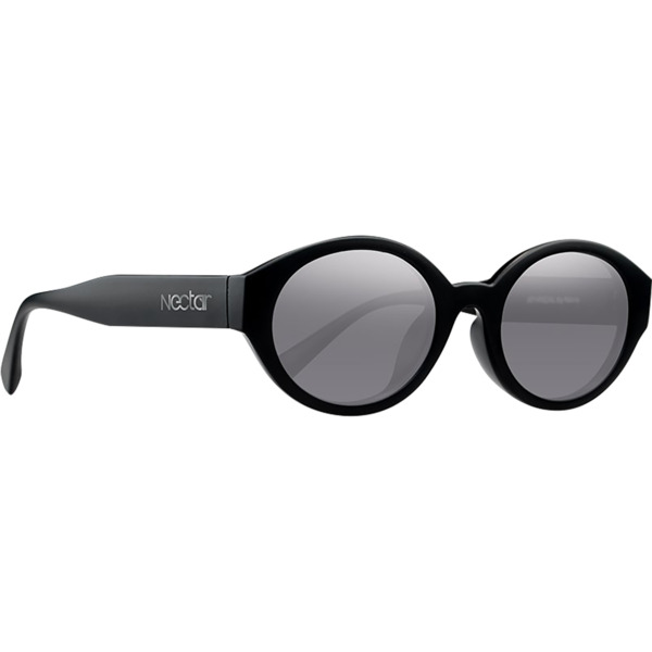 Nectar Atypical Sunglasses in Black / Silver