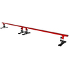 Freshpark 6 Foot Adjustable Height Skateboard Grind Rail