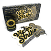 """Warehouse Polished Trucks with 52mm White Street Eagles Wheels & Bearings Combo - 5.25"""" Hanger 8.0"""" Axle (Set of 2)"""