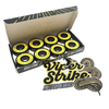 """Warehouse Polished Trucks with 53mm White Street Vents Wheels & Bearings Combo - 5.25"""" Hanger 8.0"""" Axle (Set of 2)"""