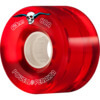 Powell Peralta Clear Cruiser Red Skateboard Wheels - 63mm 80a (Set of 4)