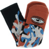 Toy Machine Skateboards Barf Sect Rust Crew Socks - One size fits most