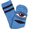 Toy Machine Skateboards Sect Eye Heather Blue Crew Socks - One size fits most