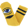 Toy Machine Skateboards Sect Eye Mustard Crew Socks - One size fits most