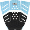 Ocean & Earth Owen Wright Signature 2018 Blue Surfboard Traction Pad - 3 Piece
