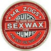 Sex Wax Quick Humps Red 5X Hard Warm to Mid-Tropical Water Surf Wax